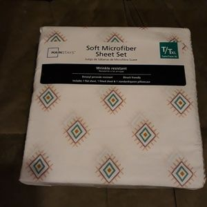 Mainstays twin size sheets